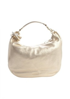 Jimmy Choo gold leather 'Solar' shoulder bag