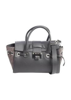 Jimmy Choo grey colorblock leather
