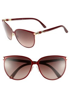 Jimmy Choo 'Juliet' 60mm Cat's Eye Sunglasses