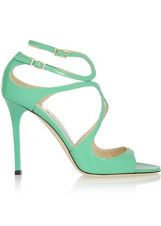 Jimmy Choo Lang patent-leather sandals