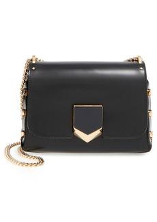 Jimmy Choo 'Lockett' Spazzolato Leather Shoulder Bag
