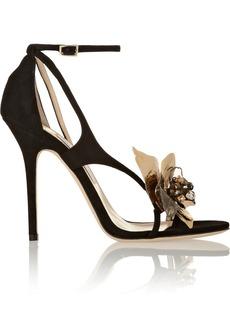 Jimmy Choo Mantle embellished suede sandals