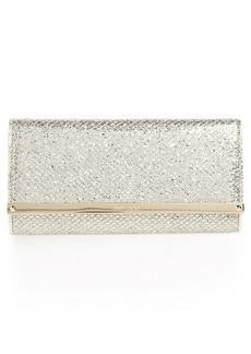 Jimmy Choo 'Milla' Glitter Wallet on a Chain