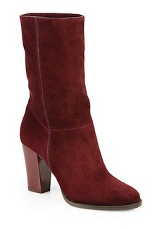 Jimmy Choo Music Suede Slouchy Mid-Calf Boot