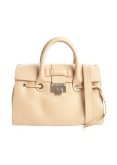 Jimmy Choo nude leather 'Rosalie' convertible satchel