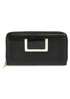 Jimmy Choo 'Pippa' Leather Zip Around Wallet