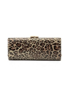 Jimmy Choo Pre-Owned: Leopard Clutch Bag