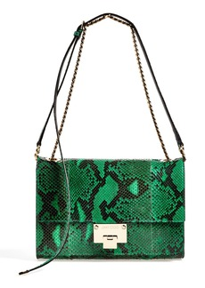 Jimmy Choo 'Rebel' Genuine Python Crossbody Bag