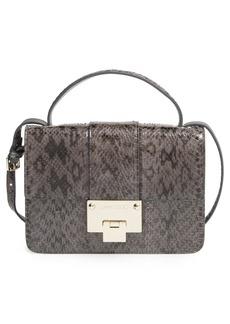 Jimmy Choo 'Rebel' Genuine Snakeskin Crossbody Bag