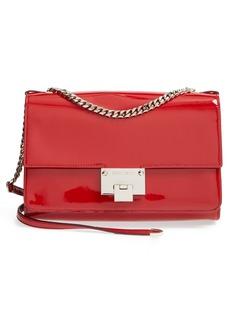 Jimmy Choo 'Rebel' Patent Leather Shoulder Bag