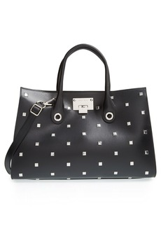 Jimmy Choo 'Riley' Studded Leather Tote