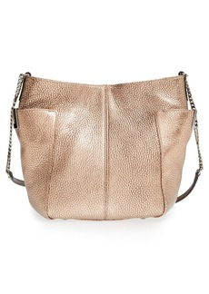 Jimmy Choo 'Small Anabel' Metallic Leather Crossbody Bag