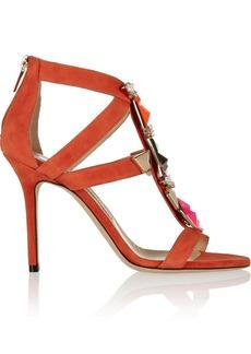 Jimmy Choo Sunrise embellished suede sandals