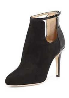 Livid Suede Ankle Boot, Black   Livid Suede Ankle Boot, Black