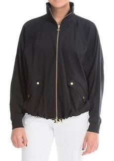 Joan Vass Batwing Jacket (For Women)