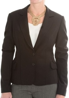 Joan Vass Button-Front Blazer (For Women)