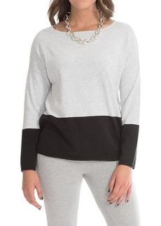 Joan Vass Cotton Dolman Sweater (For Women)