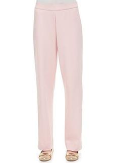 Joan Vass Cotton Interlock Pants, Petite