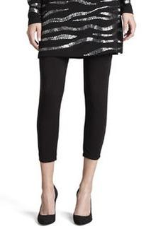 Joan Vass Cropped Leggings