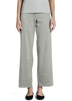 Joan Vass Heather Velour Pants, Women's