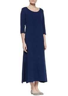 Joan Vass Interlock Easy Maxi Dress, Petite