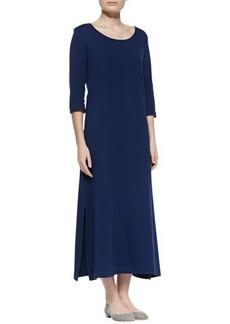 Joan Vass Interlock Easy Maxi Dress, Women's