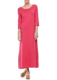 Joan Vass Interlock Easy Maxi Dress, Women's
