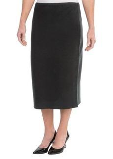Joan Vass Milano Long Cotton Skirt (For Women)