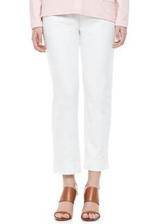 Joan Vass Ponte Ankle Pants, Women's