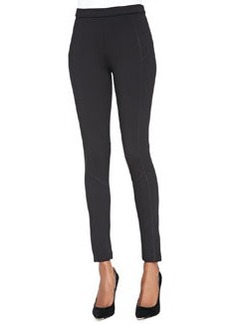 Joan Vass Seamed Ponte Leggings, Petite