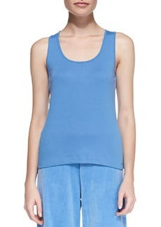 Joan Vass Sleeveless Cotton Tank