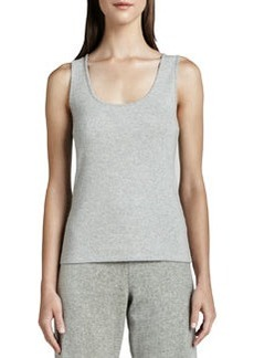 Joan Vass Sleeveless Cotton Tank, Petite