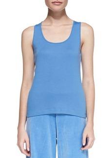Joan Vass Sleeveless Cotton Tank, Women's