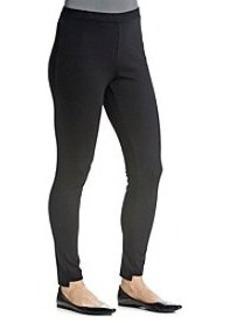 Joan Vass® Stretch Waist Leggings