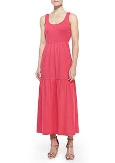 Joan Vass Tiered Long Tank Dress, Women's