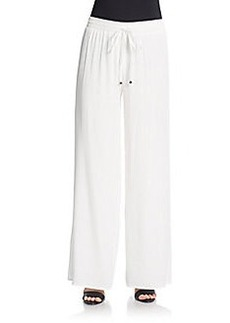 Joan Vass Wide Leg Pants