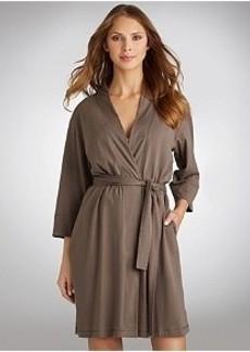Jockey 3/4 Sleeve Knit Robe