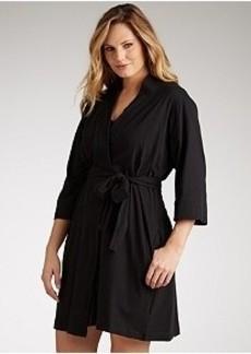 Jockey 3/4 Sleeve Knit Robe Plus Size