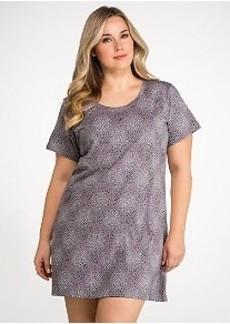 Jockey Dot Knit Sleep Shirt Plus Size