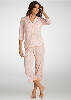 Jockey Flower Eden Knit Capri Pajama Set Plus Size