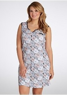 Jockey Gerber Daisies Knit Chemise Plus Size