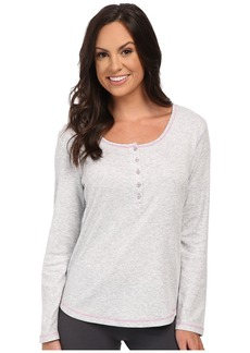 Jockey Long Sleeve Henley Top