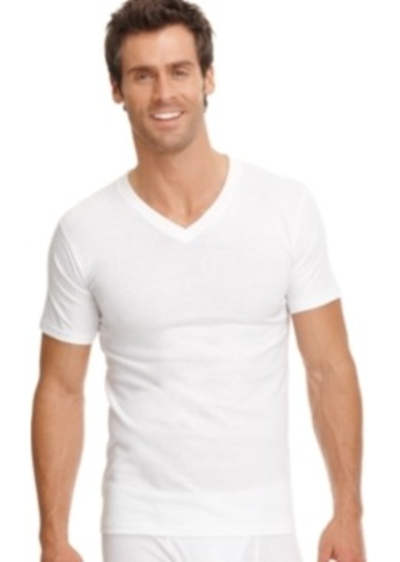 Jockey jockey men 39 s big tall classic v neck t shirt 2 for Large v neck t shirts