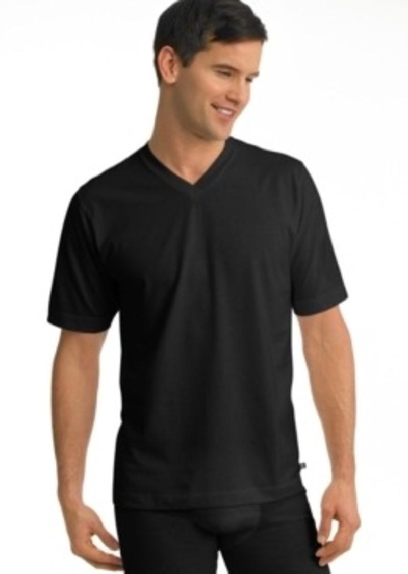 Jockey jockey men 39 s underwear stay cool v neck t shirts 2 for Jockey t shirts sale