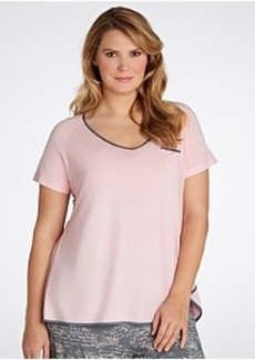 Jockey Modern Fit Knit Sleep Tee Plus Size