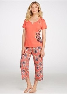 Jockey Pacific Isles Knit Capri Pajama Set