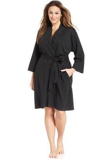Jockey Plus Size Cotton Interlock Robe