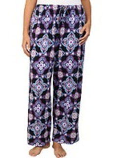 Jockey Plus Size Traditional Printed Floral Long Pant
