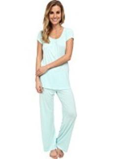 Jockey Spring Pop S/S Top w/ Long Pant Pajama Set