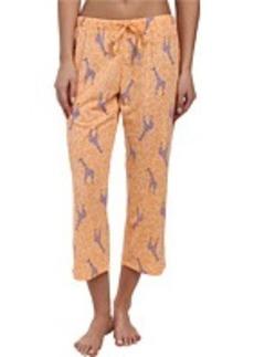 Jockey The Savannah Giraffe Printed Capri Pant